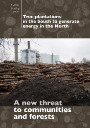 A new threat to communities and forests - World Rainforest Movement