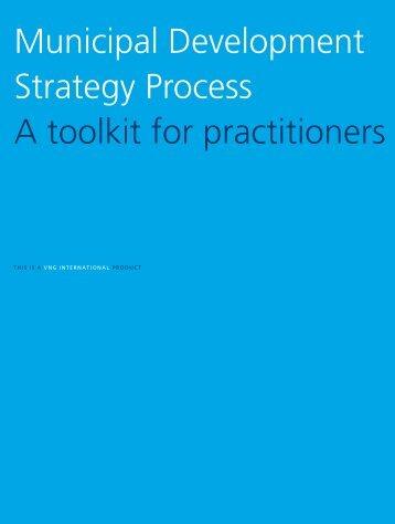 Municipal Development Strategy Process A ... - VNG International