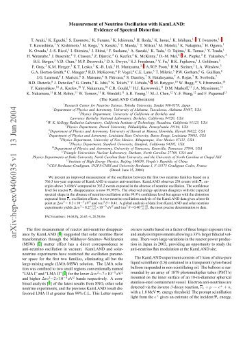 arXiv:hep-ex/0406035 v1 13 Jun 2004 - Triangle Universities ...