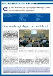 succesvolle regiodagen met veel inhoud - Nieman Raadgevende ...