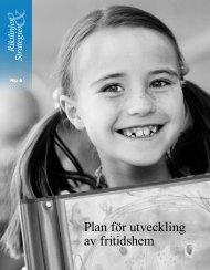 Plan för utveckling av fritidshem – PDF - Pedagog Stockholm