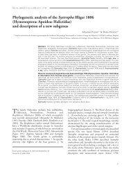 Ann. soc. entomol. Fr. (n.s.), 2006, 42 (1)