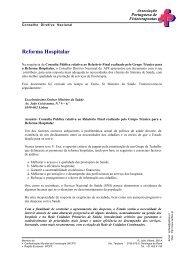 Reforma Hospitalar - APF