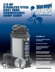 1/3 hp stainless steel cast iron submersible sump ... - Pump Express