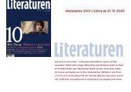 Mediadaten 2010   Gültig ab 01.10.2009 - Kultiversum