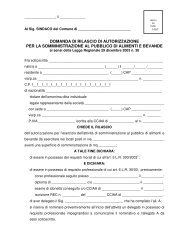 domanda di rilascio di autorizzazione per la ... - BresciaGov