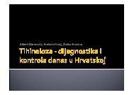 Dijagnostika trihineloze, A. Marinculić, Z. Krovina, K. Kralj