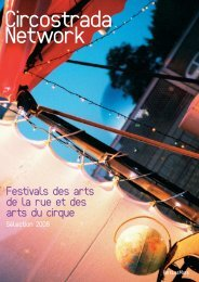 Festivals des arts de la rue et des arts du cirque - Circostrada Network