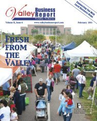 February 2011 - Valley Business Report