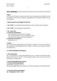 26. Lösung Fall 11 - Lehrstuhl für Öffentliches Recht II Prof. Dr ...