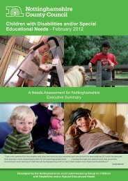 Children with Disabilities and/or Special Educational Needs ...
