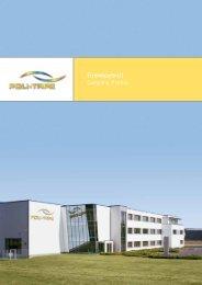 Firmenportrait (1,2 MB) - POLI-TAPE Klebefolien GmbH