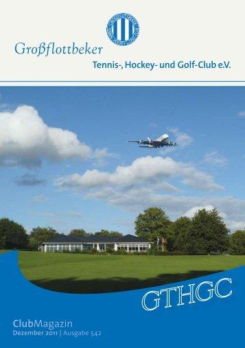 und Golf-Club eV ClubMagazin - Grossflottbeker Tennis- Hockey