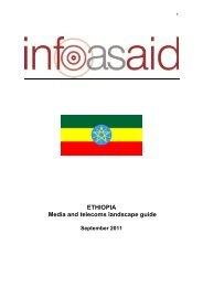 Ethiopia Media and Telecoms Landscape Guide - Infoasaid