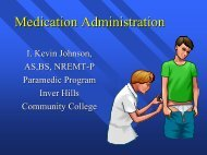 Medication Administration - Inver Hills Community College ...
