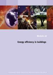 Energy efficiency in buildings - unido
