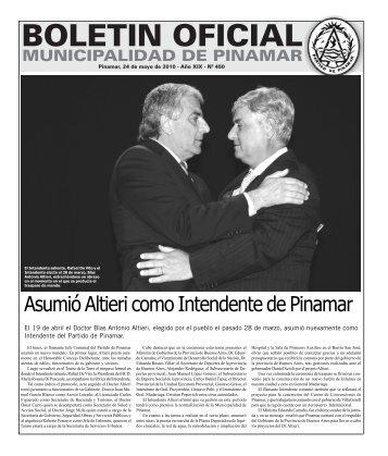 Asumió Altieri como Intendente de Pinamar - Gobierno Municipal ...