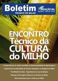 Boletim Técnico da Cultura do Milho - Fundação Bahia