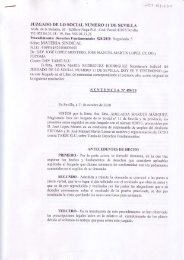 Sentencia del Juzgado de lo Social nº 11 de Sevilla sobre el ...