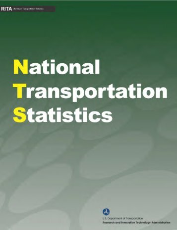 National Transportation Statistics - Research and Innovative ...