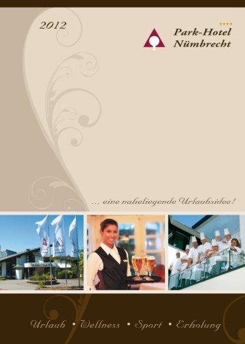 Hausprospekt 2012 - Park-Hotel Nümbrecht