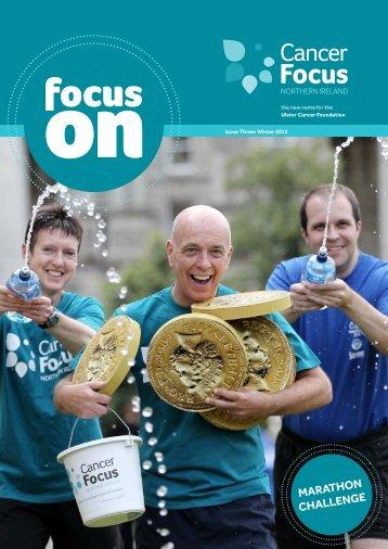 MarathON ChalleNge - Cancer Focus Northern Ireland
