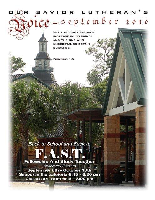F.A.S.T. - Our Savior Lutheran Church