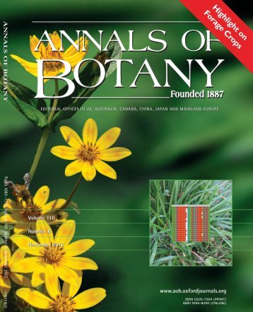Highlight on Forage Crops - Annals of Botany