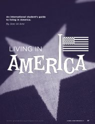 An international student's guide to living in America. - UC Irvine ...