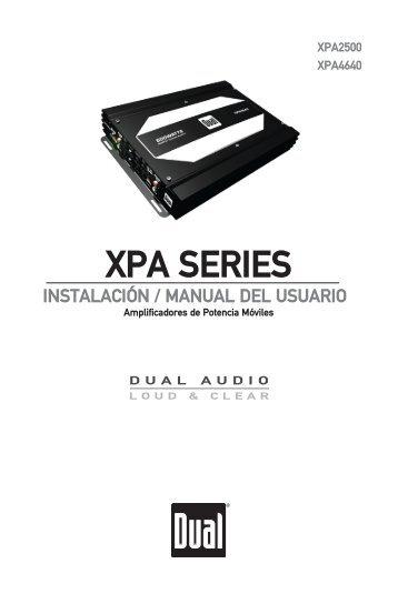 XPA SERIES - Dual Electronics