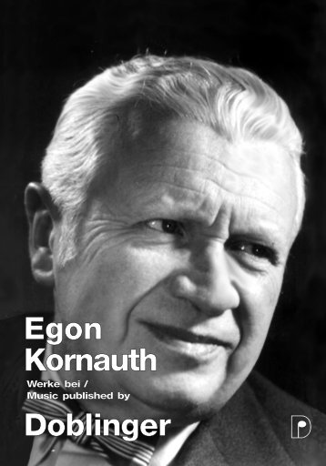 Egon Kornauth Doblinger
