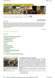 Page 1 sur 4 cestas_info N° 3 22/01/2009 file://C:\Docs ...