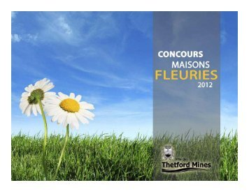 Concours Maisons fleuries 2012 - Ville de Thetford Mines