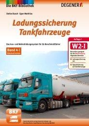Band 4-I: Ladungssicherung Tankfahrzeuge - Degener