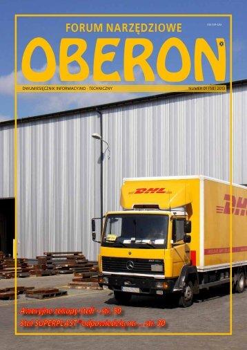 numer 01 (58) 2013 - Forum Narzędziowe Oberon