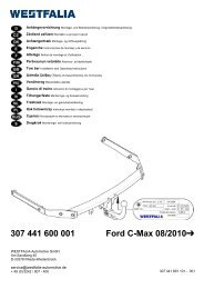 307 441 600 001 Ford C-Max 08/2010 - Bertelshofer