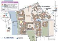 Kart St.Olavs hospital