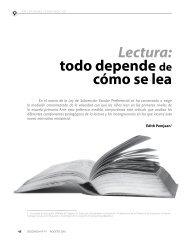 Lectura: todo depende de cómo se lea - Revista Docencia