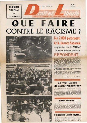 CONTRE LE RACISME 2 - Archives du MRAP