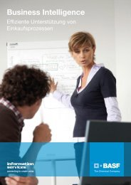 Business Intelligence - BASF IT Services