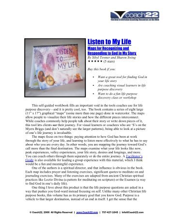 Listen to My Life - Book Review - Coach22