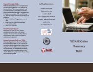 TRICARE Online Refill Instruction Guide