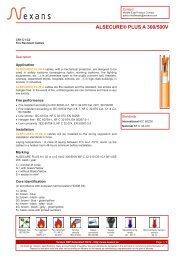 ALSECURE® PLUS A 300/500V - Nexans