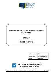 EMAD R Edition 1.0 (23 Jan 2013) – Approved - European Defence ...