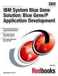 IBM System Blue Gene Solution: Blue Gene/P Application ...