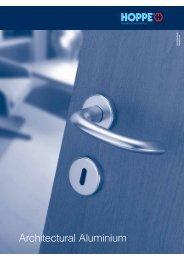 Architectural Aluminium Page 25-46 - Architectural Hardware Direct