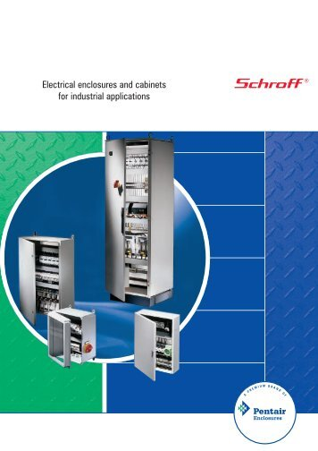 Electrical enclosures and cabinets for industrial applications