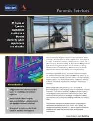 Download Brochure - Architectural Testing