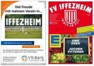 FV IFFEZHEIMSeptember - Fussballverein Iffezheim