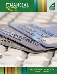 financialfacts - Cal Poly Pomona Foundation